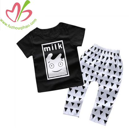fashion printed boys sets