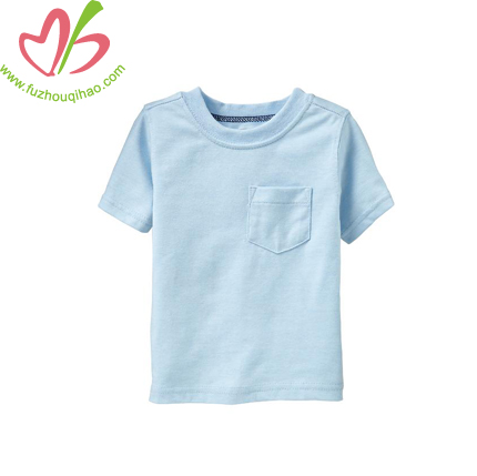 Summer Kids Blue Color T-shirt-Custom color