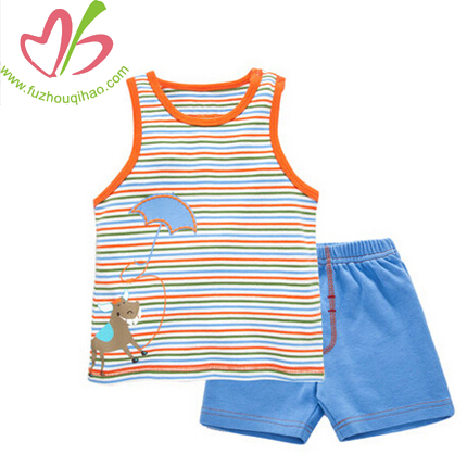 Custom Color Boy Vest Short Sets