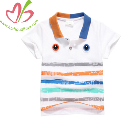 Colorful Boy's Polo Shirt