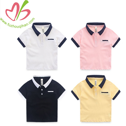 Hot Selling Wholesale Comfortable Short Sleeve Plain Polo Shirt