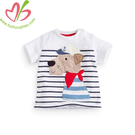 Comfortable Stripe Boy's T-shirt