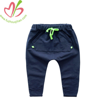100% Cotton Winter Boy Legging with Ribbons
