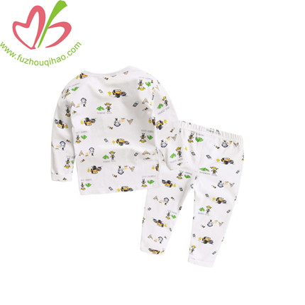 Full Printing 100% Cotton Winter Pajamas