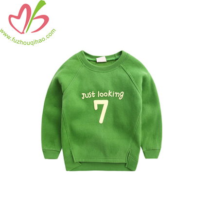 Comfortable Printing Boy Sport Hoodie With Reglan Sleeves