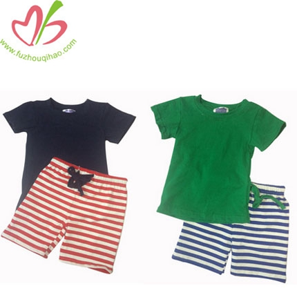 Wholesale High Quality Boys 2pcs Outfit