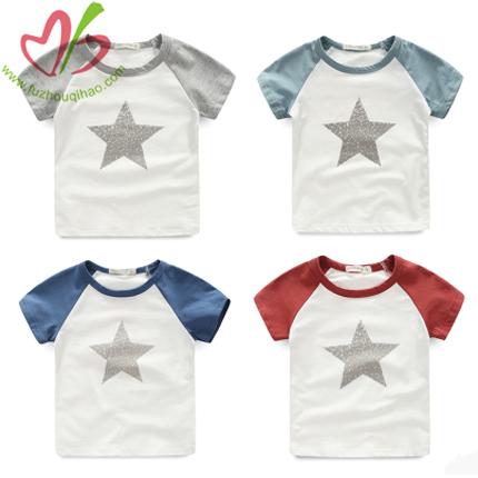 Raglan Sleeves Boy's Shirt