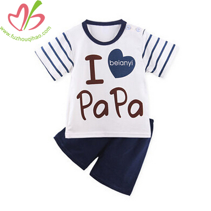 Cute Toddler Boy Sets with Print