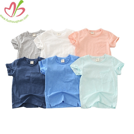 Wholesale Blank Soft Shirt for Boys
