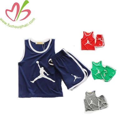 Children's Basketball Vests Two-piece Boy Shorts Suits