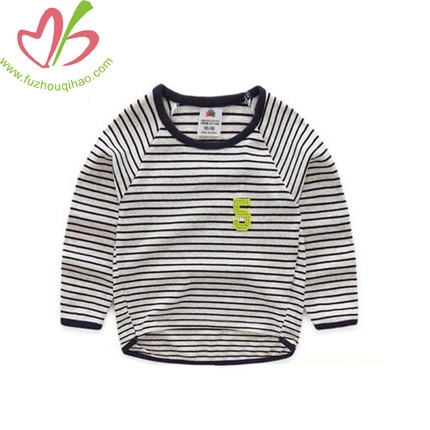 Spring Boys Striped Shirt