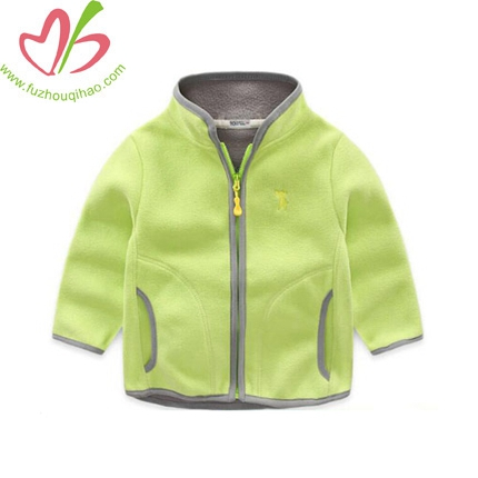 Children Polar Fleece Clothing Leisure Cardigan Fleece