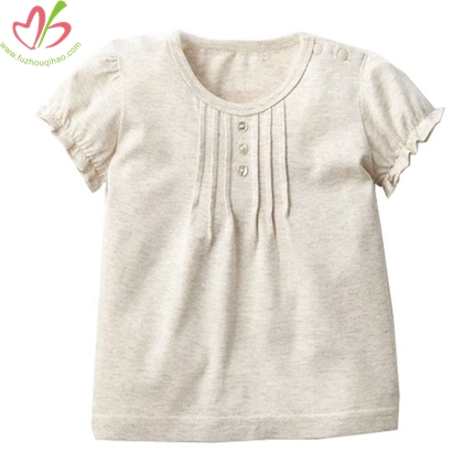 Wholesale Plain Children Blouse