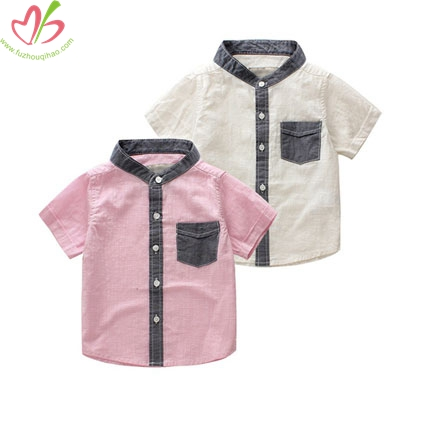 Short Sleeves Boy's Summer Shirt