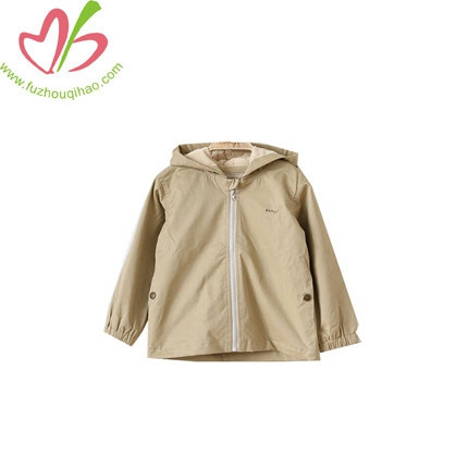 Baby Boy Jacket Zipper Unlined Upper Garment Leisure Coat