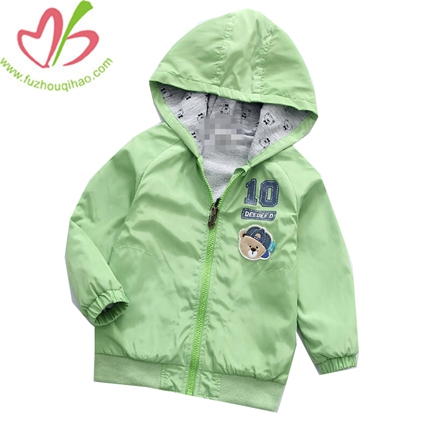Children's Sports Coat Baby Clothes Boy Hooded Jacket