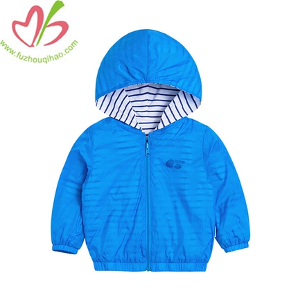 Baby Hoodie Double Open Coat Long Sleeves