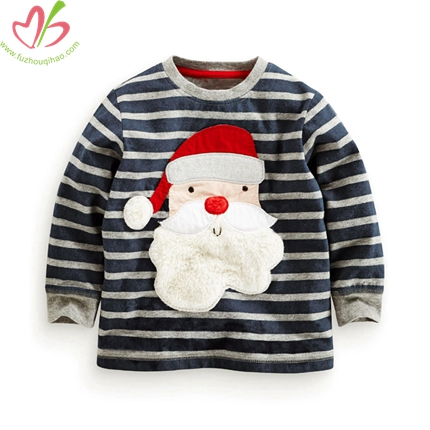 Kids Boy's Snowman Applique Tees
