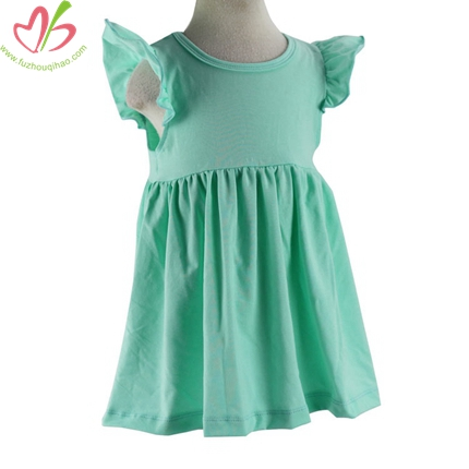 Flutter Sleeves Children's Tunic Top