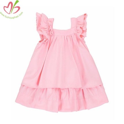 Double Ruffles Children One Piece Clothes