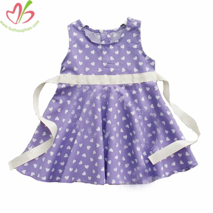 Baby Dress with Buttons Down